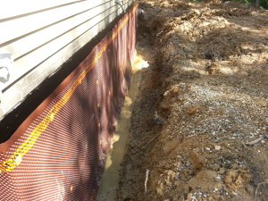 fixing a wet basement
