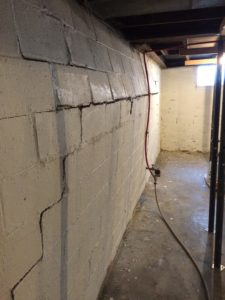 Foundation Repair methods review for Bowing Wall